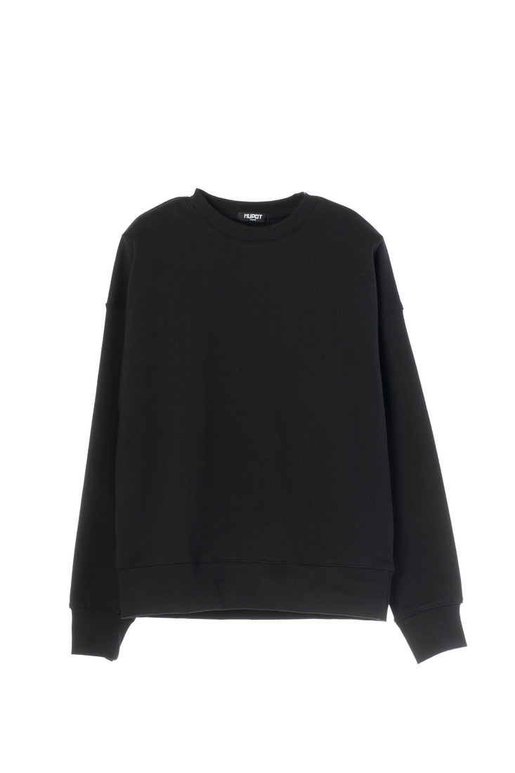 SS17 BIG SHOULDER SWEATER BLACK