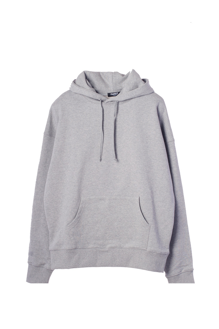 BIG SHOULDER HOODIE GRAY