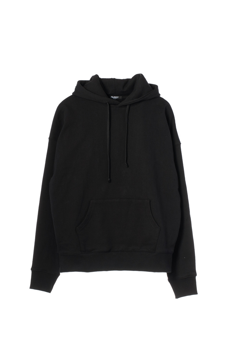 BIG SHOULDER HOODIE BLACK