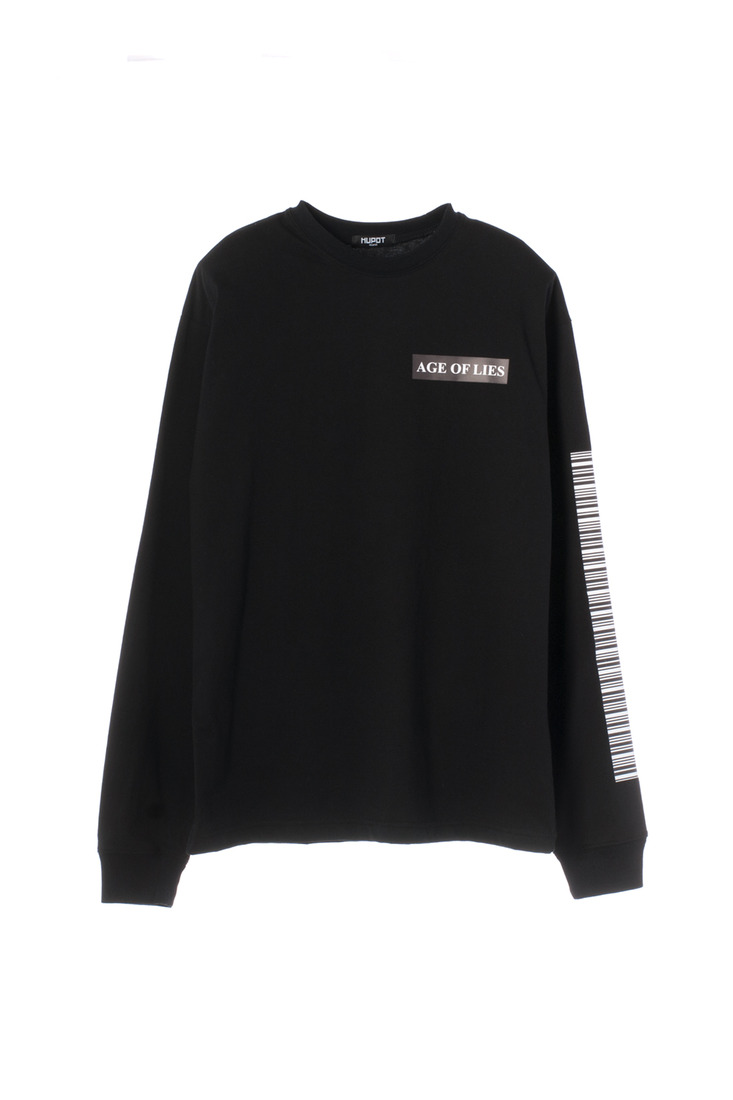 SS17 MARIA LONG SLEEVE TSHIRT BLACK